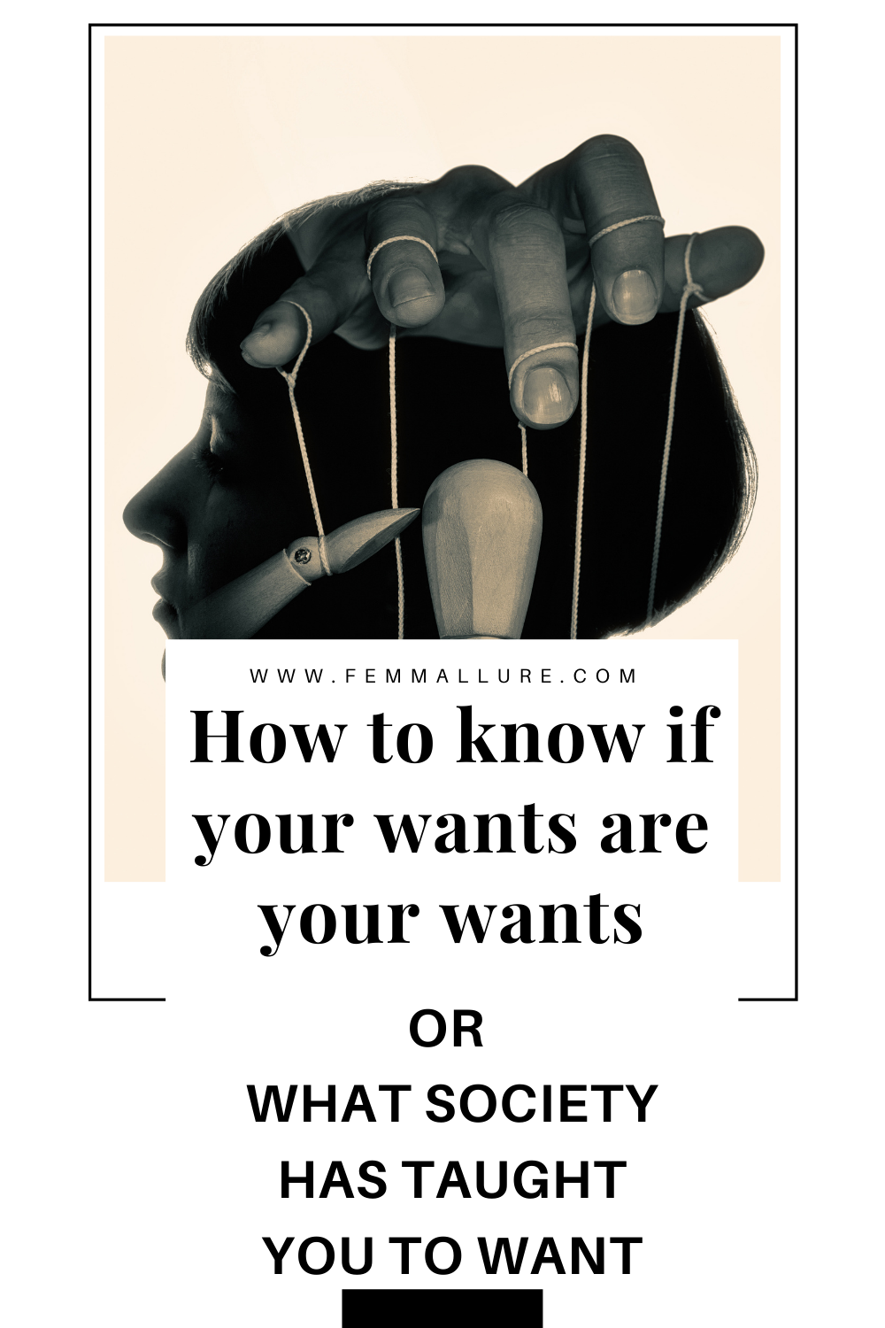 how to know if your wants are your wants_or what society has taught you to want